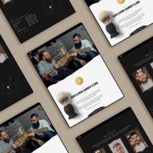 Best barbershop website designs