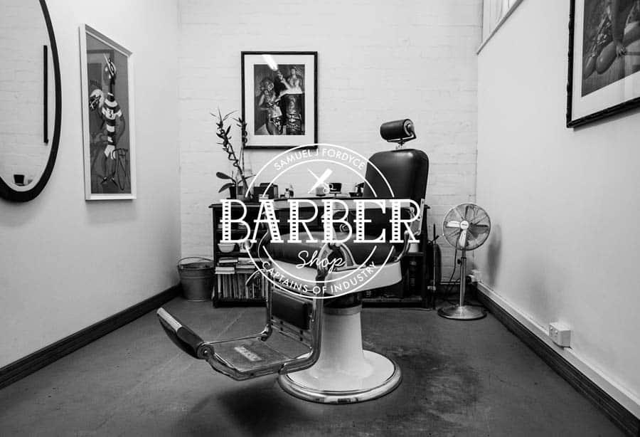 Website: Captains of Industry Barbershop