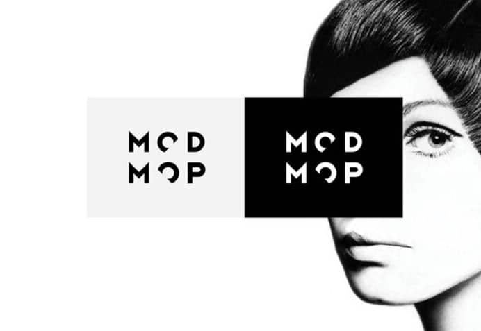 modmop hair salon graphics