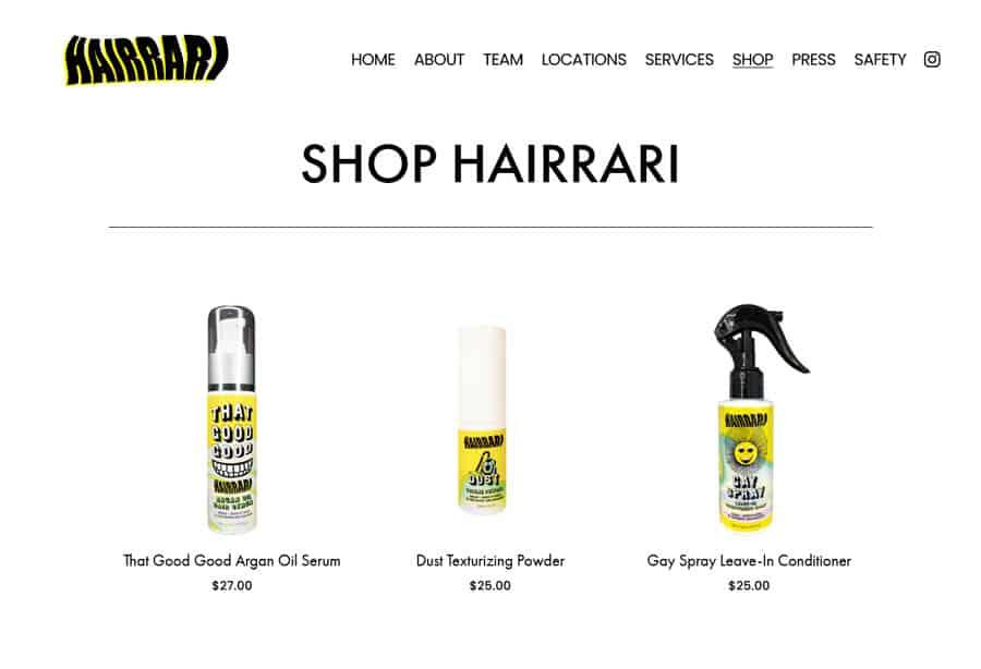 Website: Hairrari Barbershop