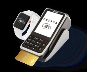Fresha credit card terminal for salons
