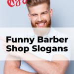 funny barbershop slogans