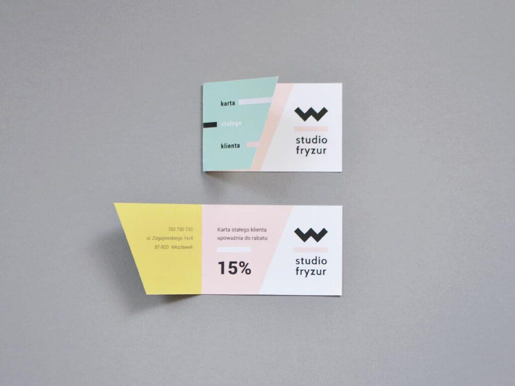 Salon discount card