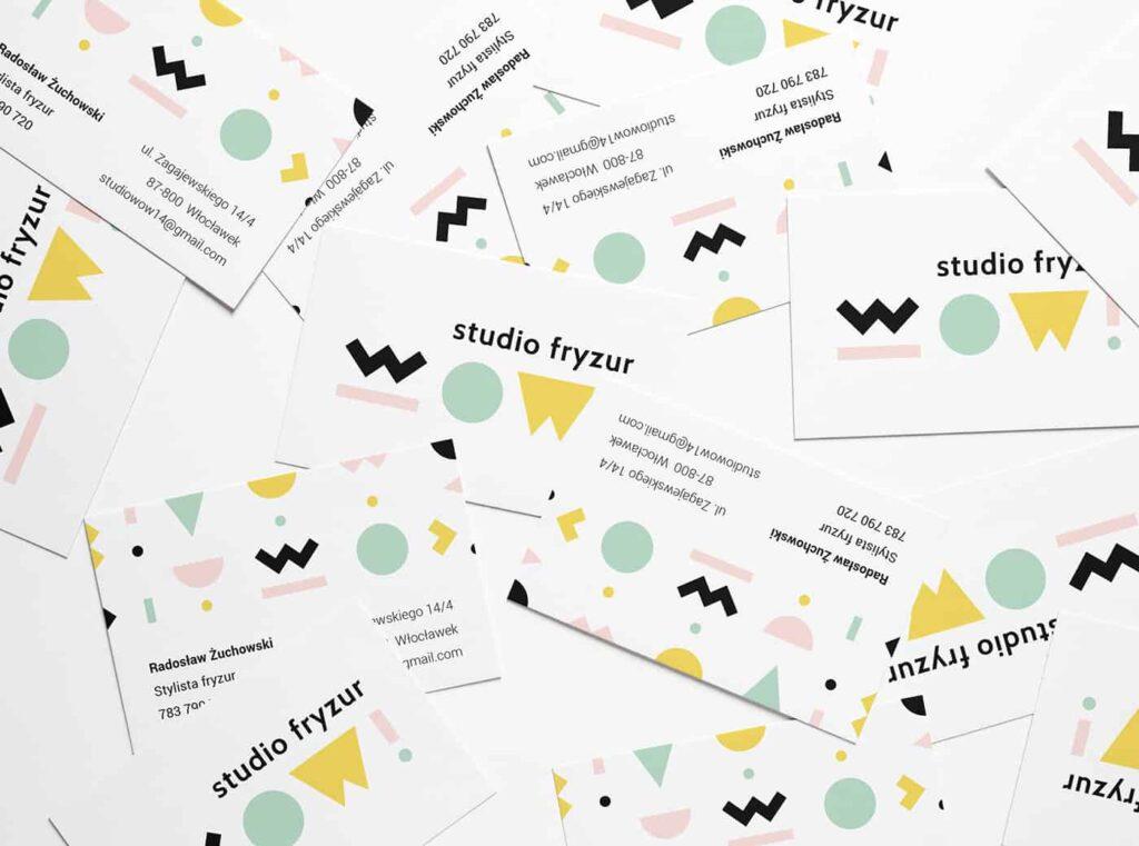 Hair Salon Business Card Design