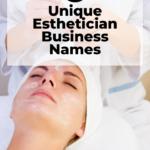 unique esthetician business names