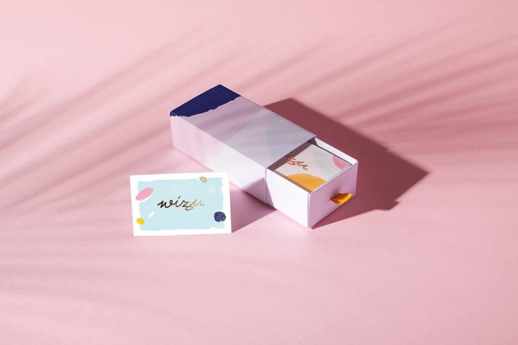 Salon business card holder